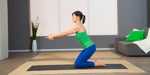 Pilates Beckenboden-Übung 6: Shakti