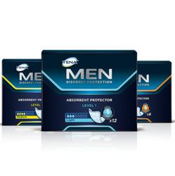 TENA-produkter for menn