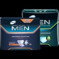 TENA MEN Level 3 + TENA MEN Protective Underwear (Level 4)