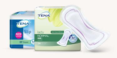 TENA Slip and TENA Lady