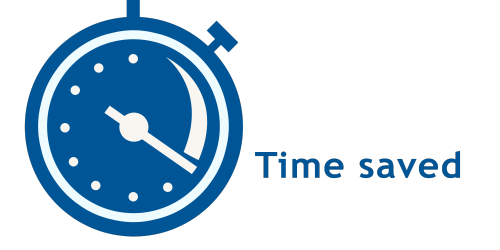 Image of Time Saved Icon