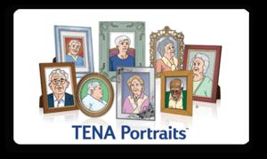 TENA Portraits Logo Image