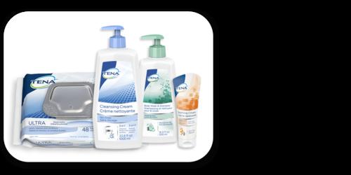 Image of TENA Skincare Family of Products - TENA Professional