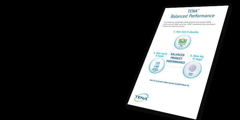 TENA Balanced Performance Brochure - TENA professional