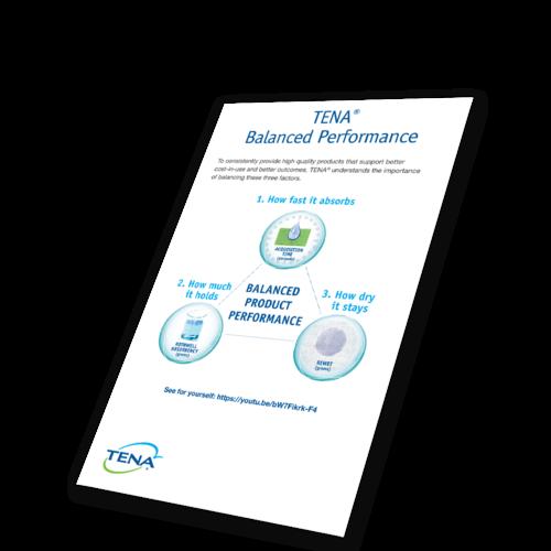 Image of Balanced Performance Mailer - TENA Professional
