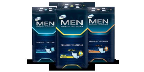 TENA Men-producten