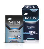 TENA Men Protective shield & TENA Men Level 1