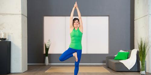Pilates Beckenboden-Übung 4: Der Baum zum Beckenboden anspannen
