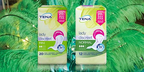 Gama de productos TENA Lady Discreet