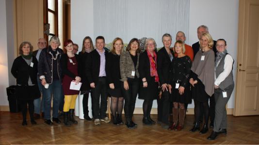 Gruppbild efter riksdagsseminarium