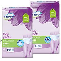 TENA Lady Pants Discreet M & L