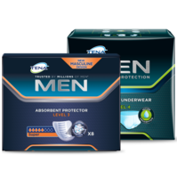 TENA MEN Level 3 + TENA MEN Protective Underwear (Level 4)