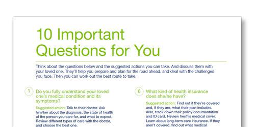 TENA 10 svarbių klausimų šablonas šeimos slaugytojui