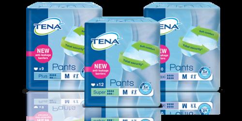 Balenie so vzorkami TENA produktov