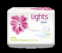 lights by TENA  Serviette Ultra Normal