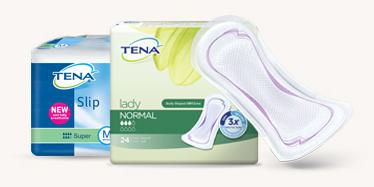 TENA Slip ja TENA Lady