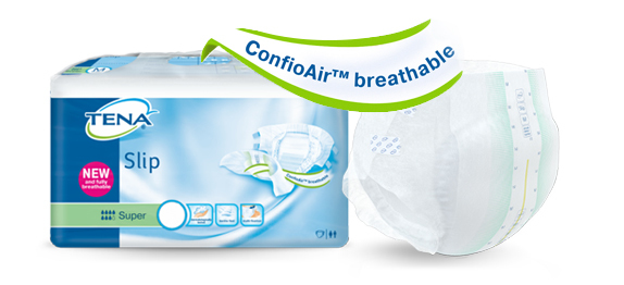 TENA Slip и TENA Comfort с технологией ConfioAir™