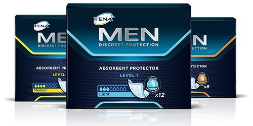 TENA Men products