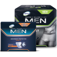 TENA Men Level 3 ja TENA Men Premium Fit Level 4