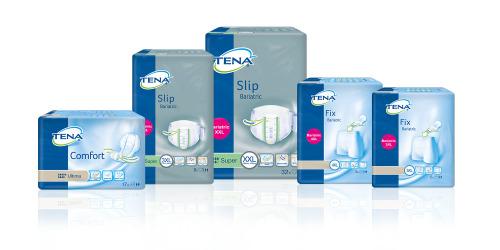 TENA Bariatric range packshots