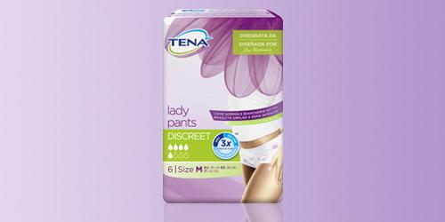 Imagen de producto de la nueva TENA Lady Pants Discreet