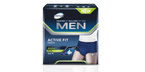 TENA Men Active Fit packshot