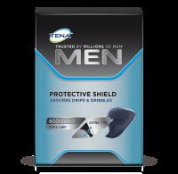 TENA Men Protective Shield voor mannen met incontinentie, voor kleine hoeveelheden urine, druppels en scheutjes