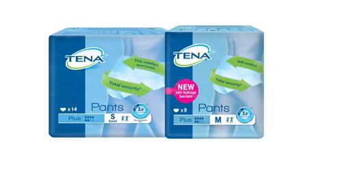 Prøvepakke med TENA-produkter