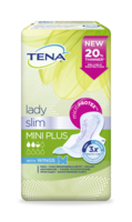 TENA Lady Slim Mini Plus Wings Packshot