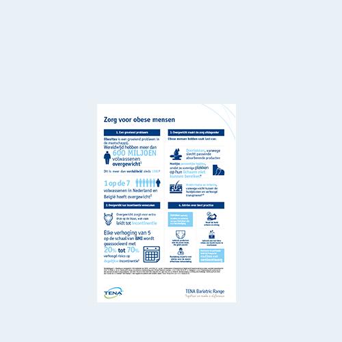 TENA Bariatric informatieblad voor professionals