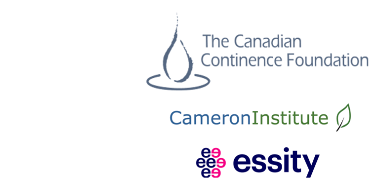Image of Logos for The Canadian Continence Foundation, Cameron Institute, Essity
