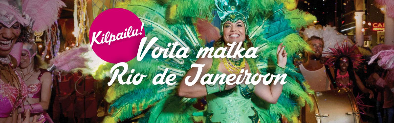 Kilpailu! Voita matka Rio de Janeiroon!