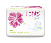 lights by TENA  Serviette Ultra Normal
