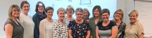 Medlemmerne i TENA Identifi ERFAgruppen om velfærdsteknologi til kontinenspleje