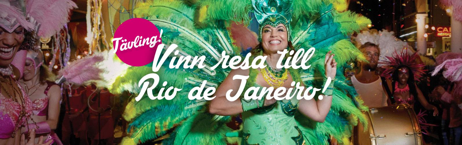Tävla om en resa till Rio!