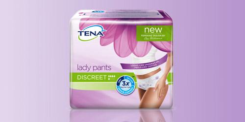 Imagem do novo produto TENA Lady Pants Discreet