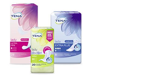 Probepackung von TENA