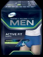 TENA MEN Active Fit Pants, ein Produkt, das speziell für Männer entwickelt wurde