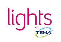 lights by TENA -logo
