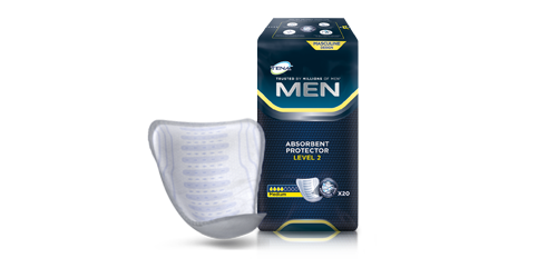 TENA Men Absorbent Protector Level 2 pack medium absorbtion
