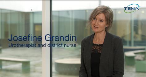 TENA Josefine Grandin, Urothérapeute et infirmière