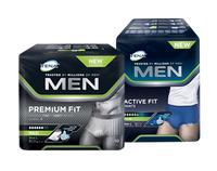 TENA Men Engångskalsong Active Fit & Premium Fit, storlek large