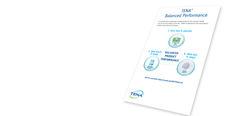TENA Balanced Performance Brochure - TENA professional