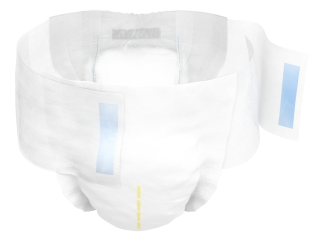 TENA Complete+Care incontinence briefs - product closed