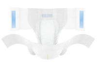TENA Complete+Care incontinence briefs - product open