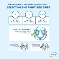 Usage instructiuons for TENA Complete & TENA Complete+Care
