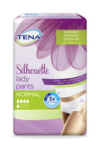tena silhouette lady pants normal incontinence underwear. Black Bedroom Furniture Sets. Home Design Ideas