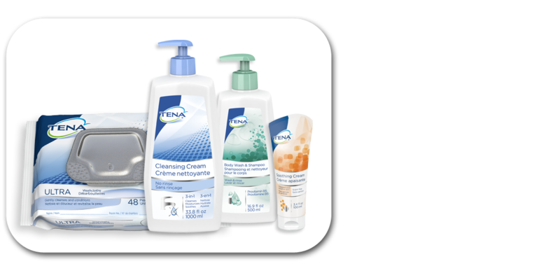 Image of TENA Skincare Family of Products - TENA Professional