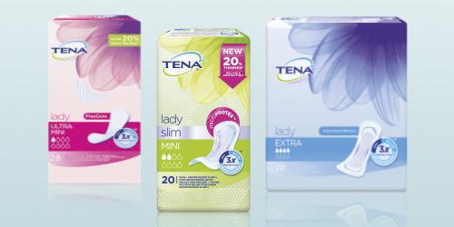 Nabor izdelkov za ženske TENA