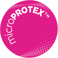 Trademarked logo microPROTEX